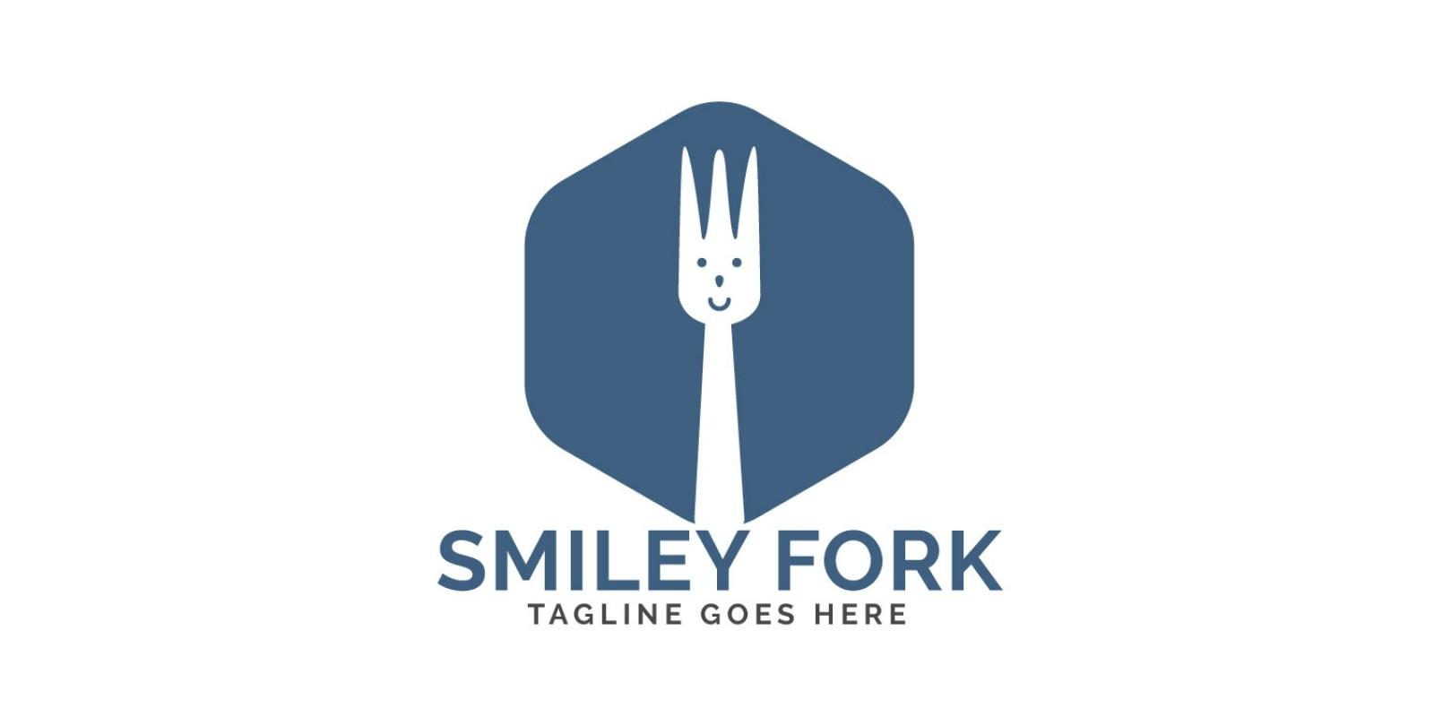 Smiley Fork Logo Design
