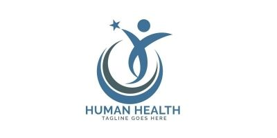 Human Star Logo Design