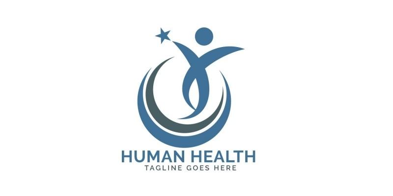 Human Star Logo Design