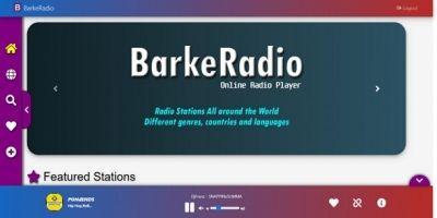 BarkeRadio Online Radio Streaming Portal Script