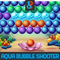 Aqua Bubble Shooter Unity Game Template