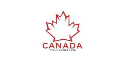 Maple Leaf Canada  Logo Design