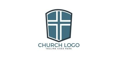 Cross Vector Logo Design