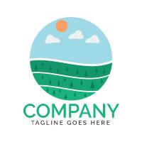 Organic Farm Logo Design
