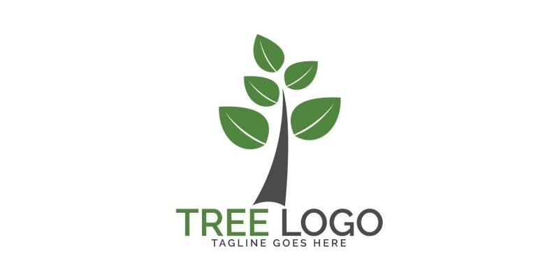 Green Tree Logo Design