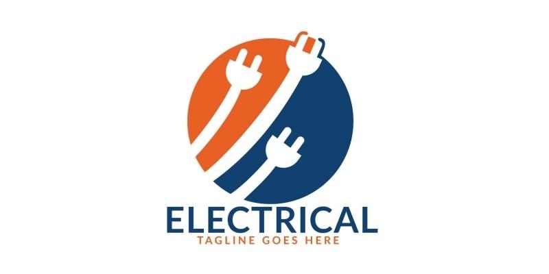 Electrical Plug Logo Design
