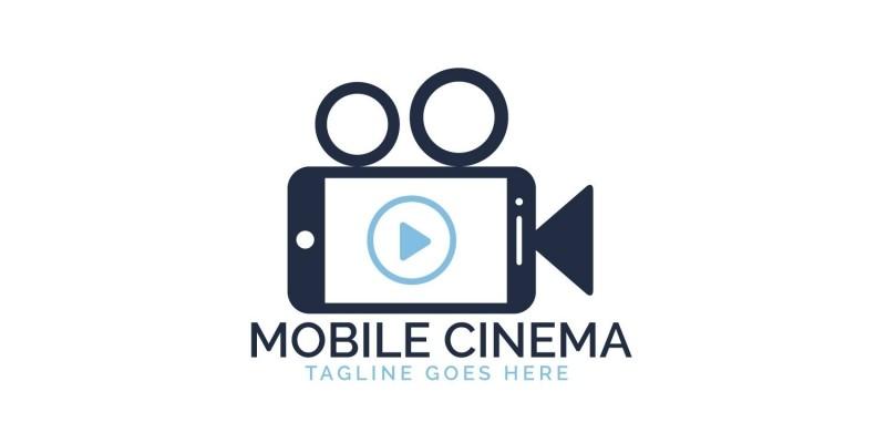 Mobile Cinema Logo Design