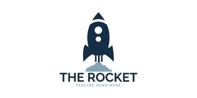 The Rocket Logo Design