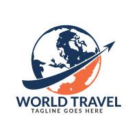 World Travel Logo Design