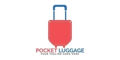 Pocket Luggage Logo Design