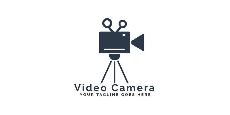 Video Camera Logo Design