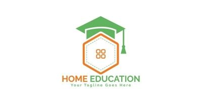 Home Education Logo Design