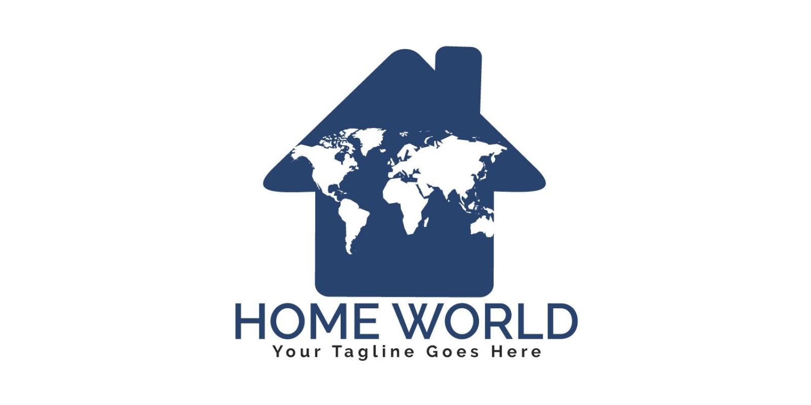 Home World Logo Design