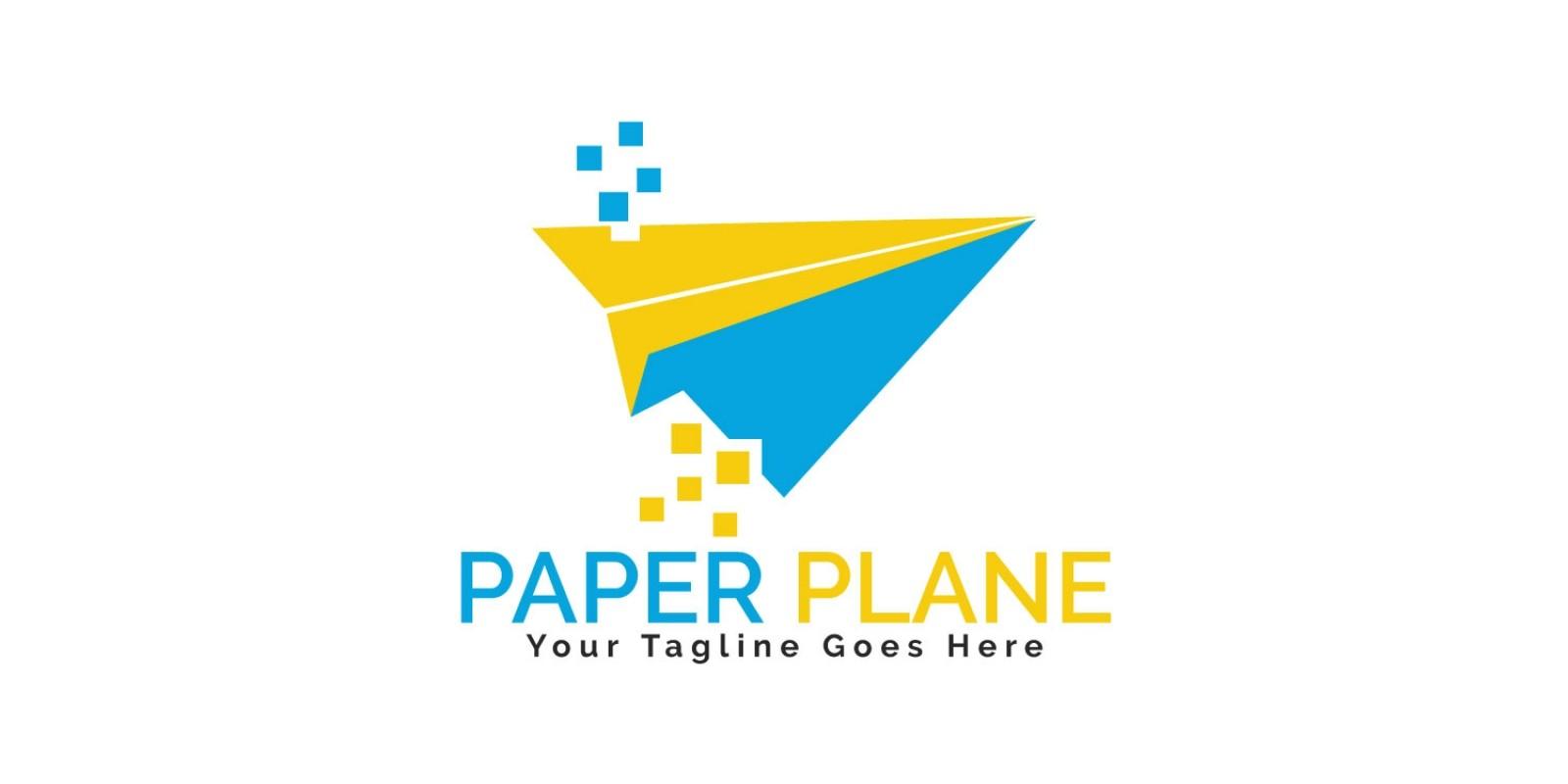 Paper Plane Logo Design