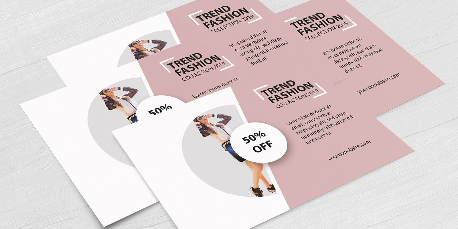 Simple Fashion Fashion Card