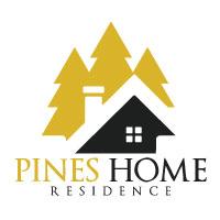Pine Home Vector Logo Design
