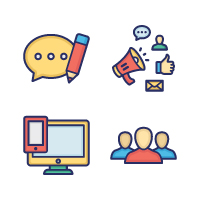 200 Web Optimization Vector Icons Pack