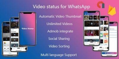 Video Status  App - iPhone App with Admin Panel