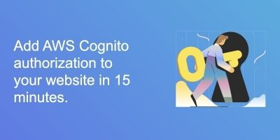 AWS Cognito Authorization For Websites