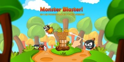 Monster Blaster - Complete Unity Project