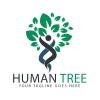 human-tree-logo-design