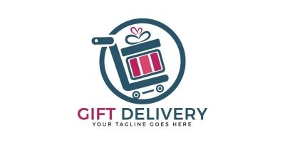 Gift Deliver Logo Design