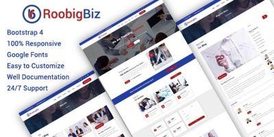 RoobigBiz - HTML Template