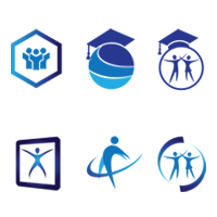 Education logo design Concept inspiration