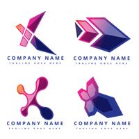 Futuristic, modern and creative digital media logo