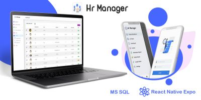 HR Manager - Smart Business Tracker React App