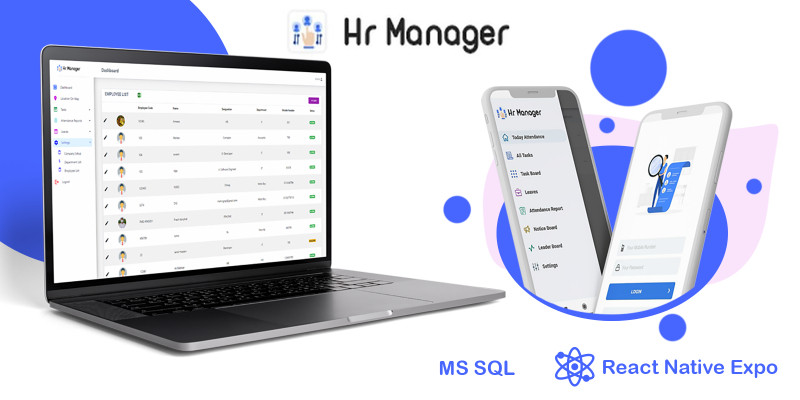 HR Manager - Smart Business Tracker React App