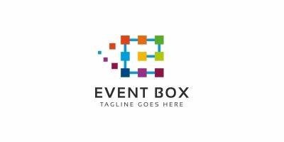 Event Box E Letter Logo