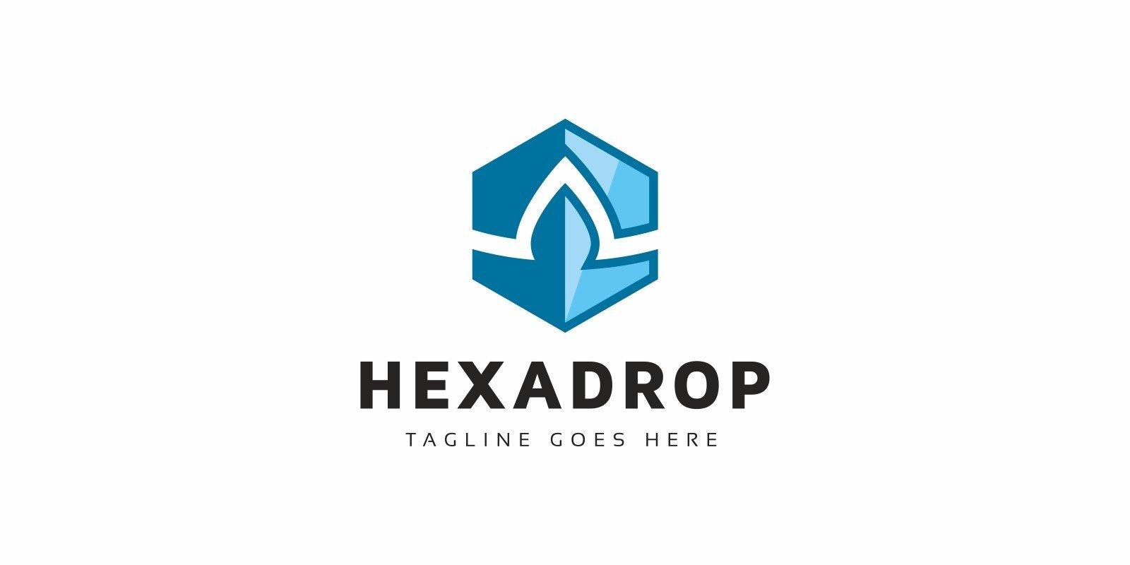 Hexa Drop Logo