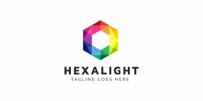Hexagon Colorful Logo