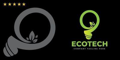 EcoTech Logo Template