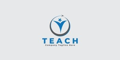 Teach Logo Template