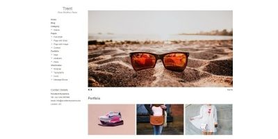 Trent - Portfolio WordPress Theme