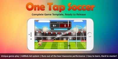 One Tap Soccer - Complete Unity Project