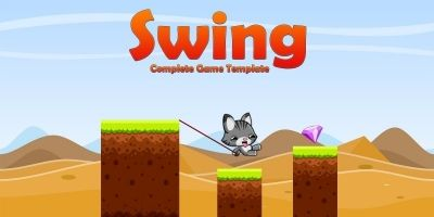 Swing Endless Jump - Complete Unity Project