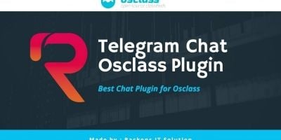 Telegram Chat Plugin For Osclass