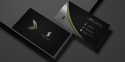 High-End Corporate Business Card