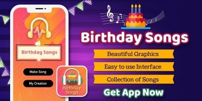 Birthday Songs Maker - Android Source Code