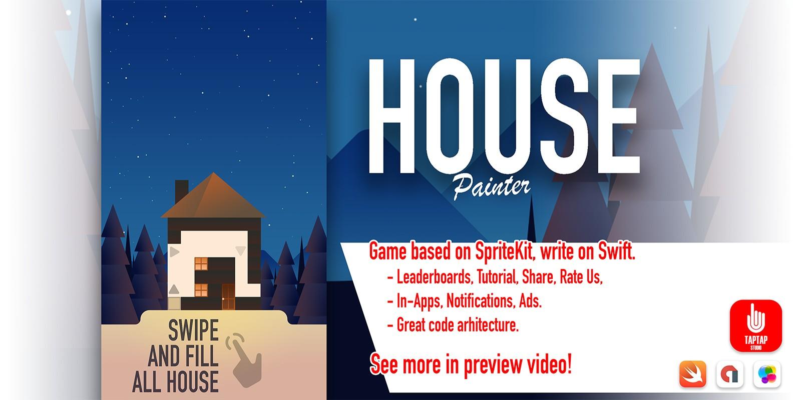House Painter - iOS Source Code