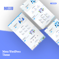 Maxu - Responsive Multi-Purpose WordPress Theme