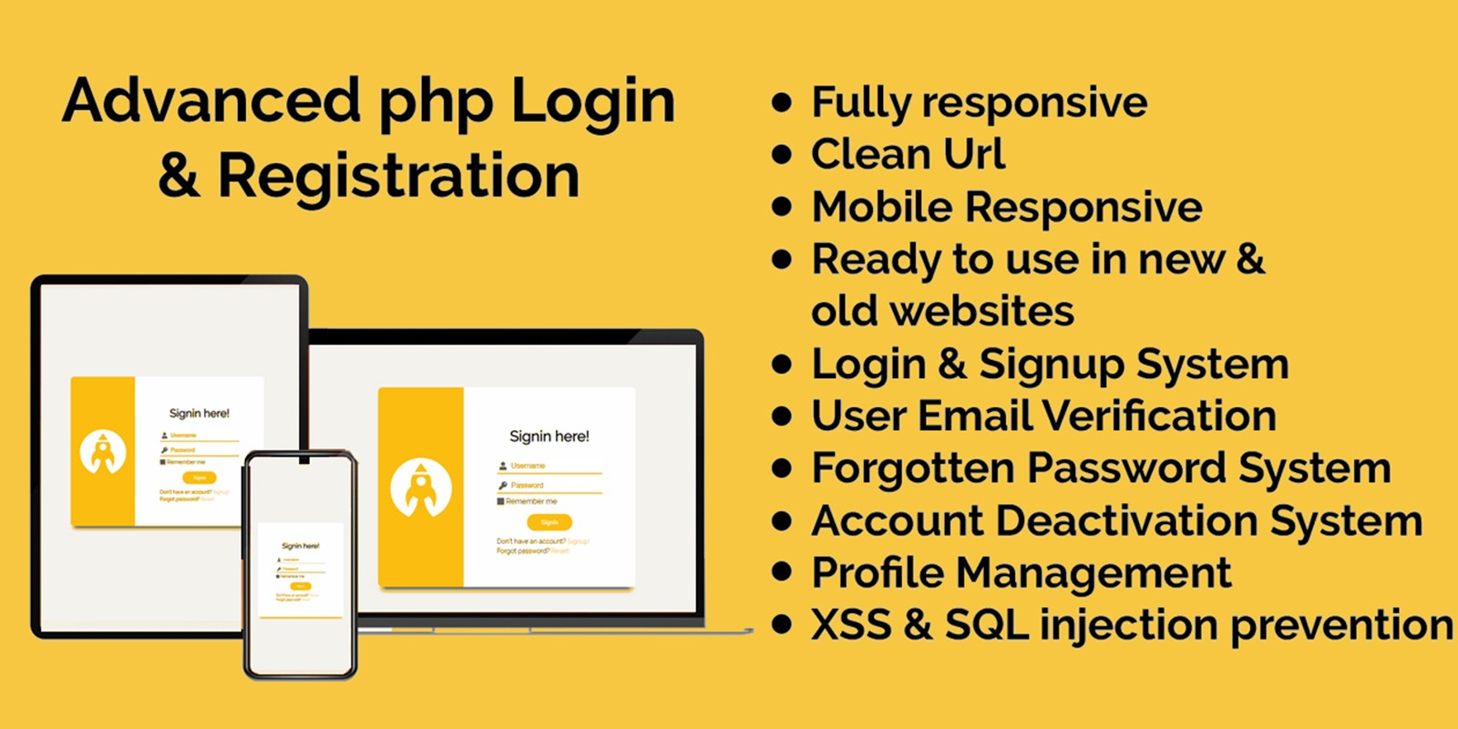 Login And Registration System - PHP Script
