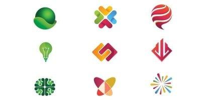 Modern Colorful Logo Design Inspiration Template