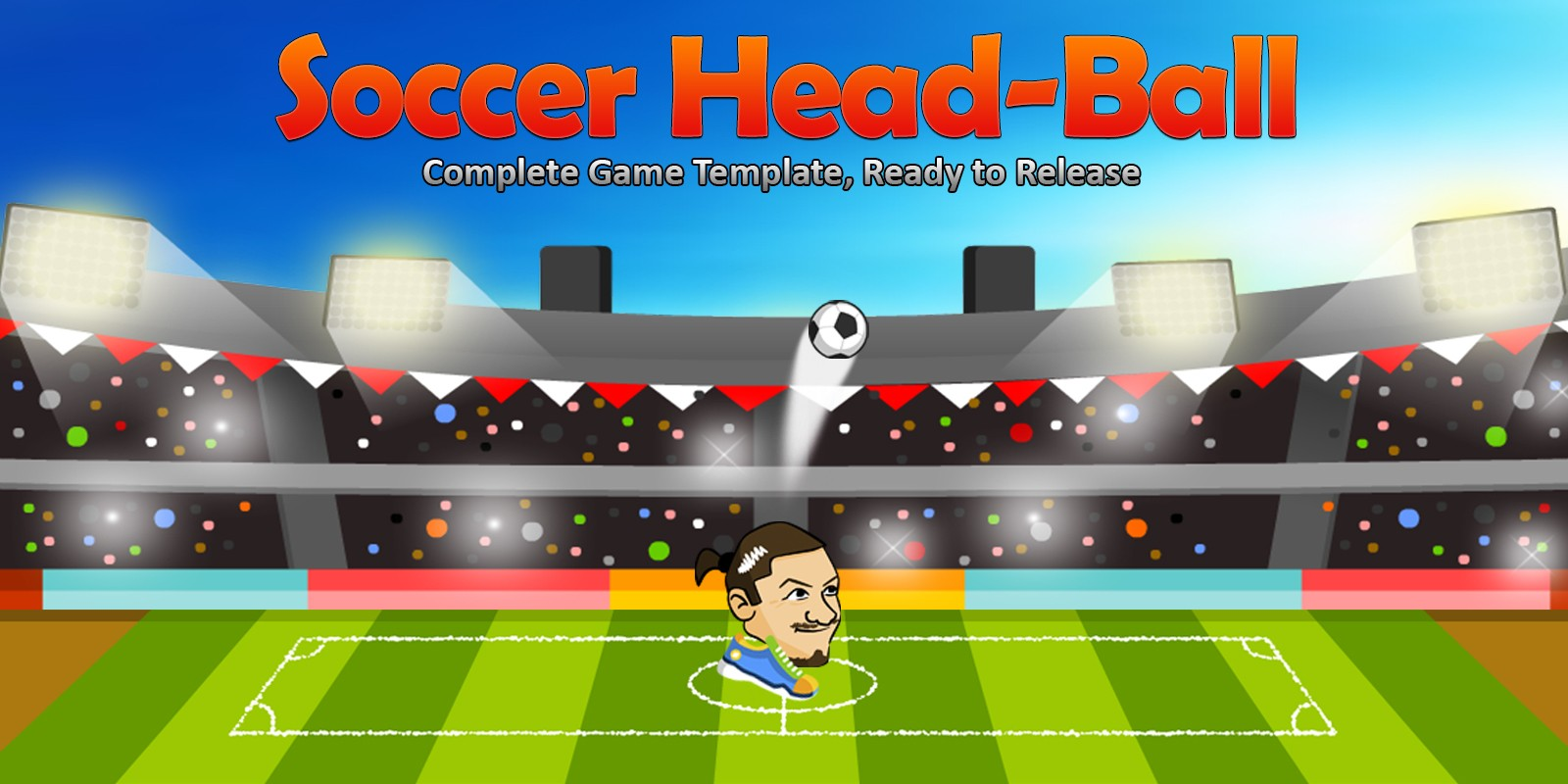 Soccer Head-Ball - Complete Unity Project