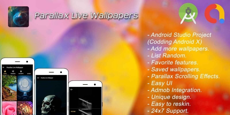 Parallax Live Wallpaper - Android Source Code