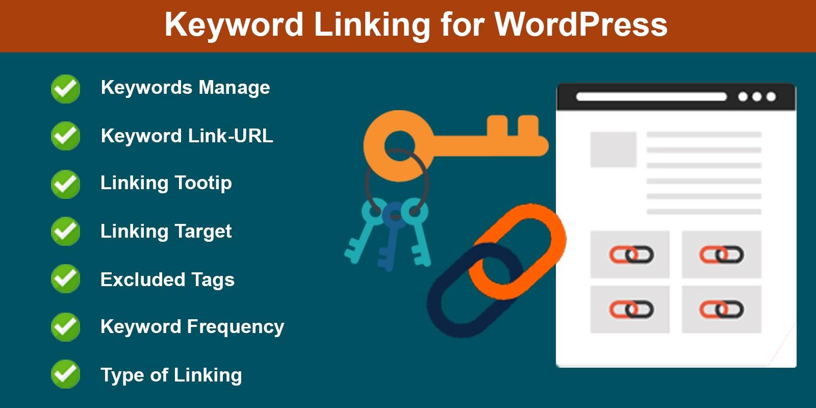 WordPress Keyword Linking Plugin