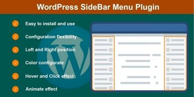 SideBar Menu For Wordpress Plugin